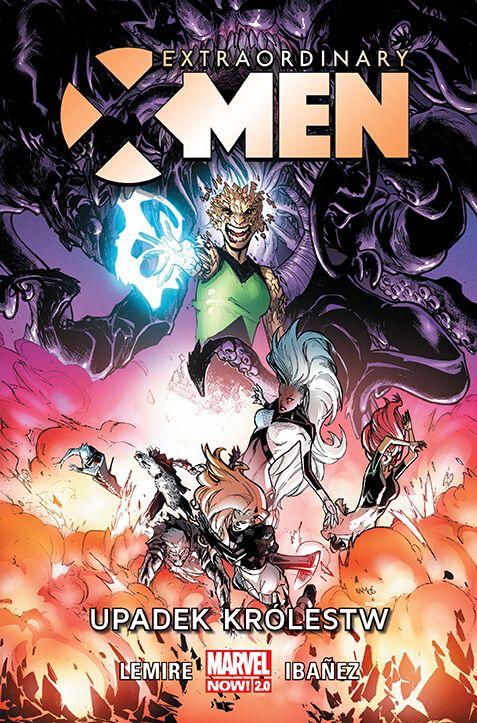 Extraordinary X-Men – Upadek królestw, tom 3 - okładka