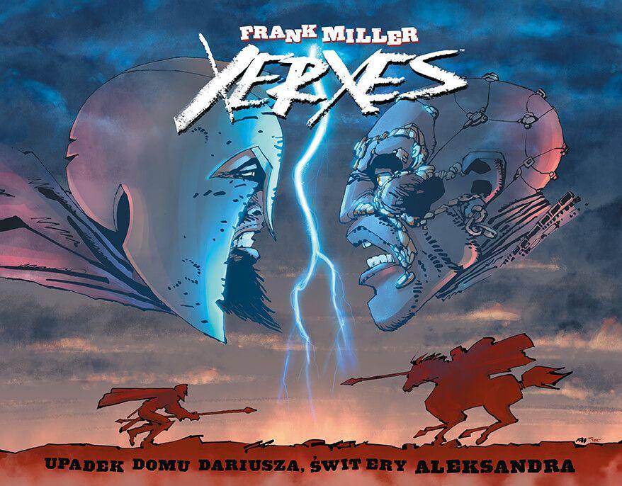 Xerxes: Upadek rodu Dariusza, świt ery Aleksandra - okładka