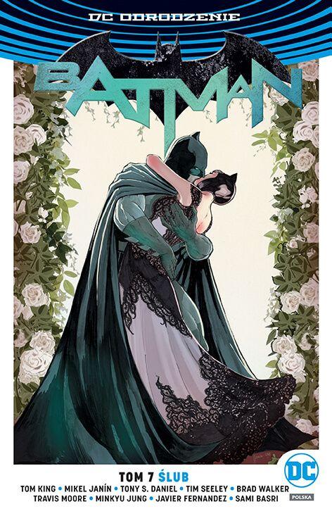Batman – Ślub, tom 7 - okładka
