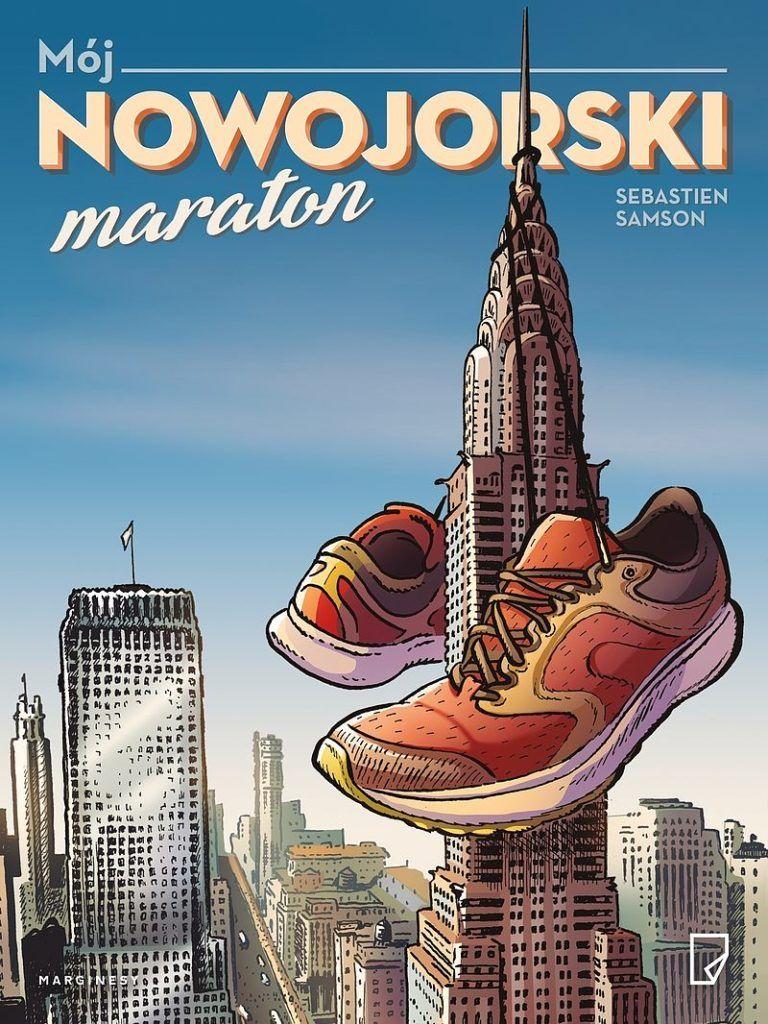 Mój nowojorski maraton - okładka