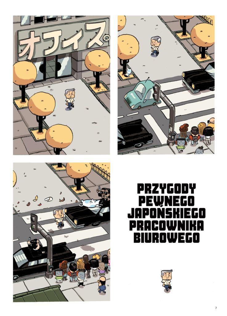 Przygody pewnego japońskiego pracownika biurowego – plansza przykładowa