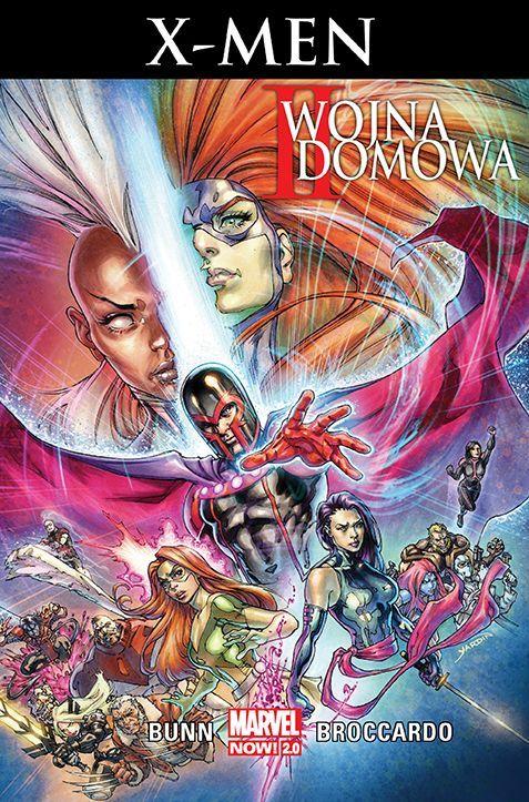 II wojna domowa X-Men - okładka