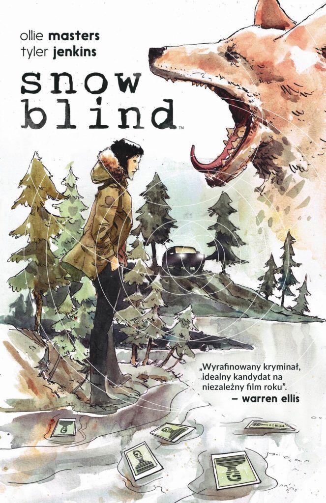 Snow Blind 1 - okładka