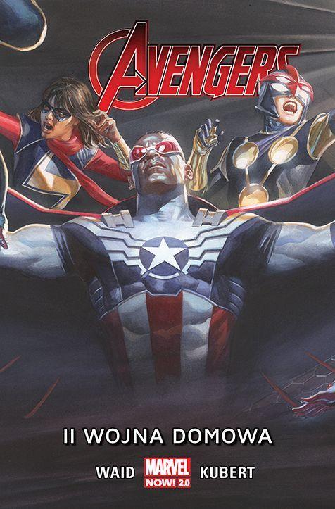 Avengers: II Wojna domowa - okładka