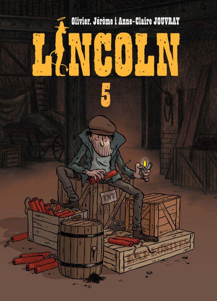 Lincoln 5 - rys. Jérôme Jouvray