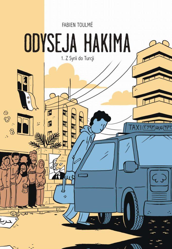 Odyseja Hakim - okładka