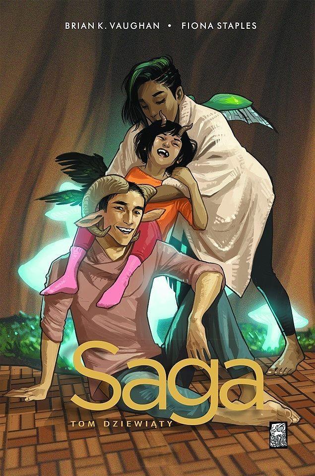 """""""Saga 9 - okładka"""""""
