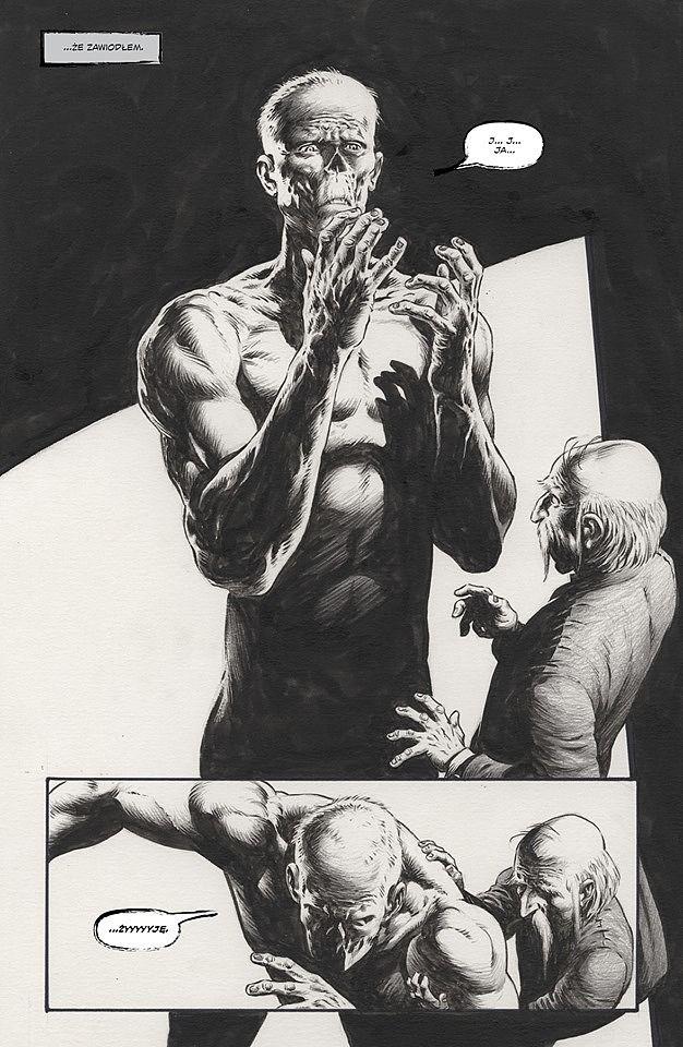 Frankenstein żyje, żyje! - Plansza przykładowa