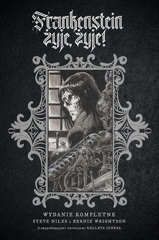 Frankenstein żyje, żyje! - Okładka