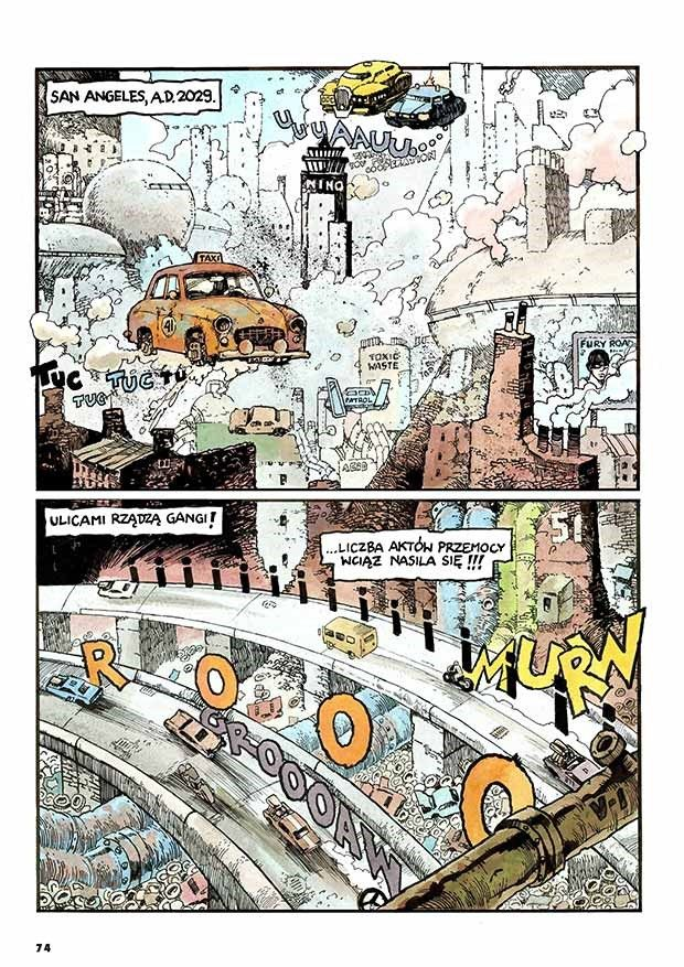 """""""Tajfun: Nowe przygody. Antologia"""" - przykładowa strona"""