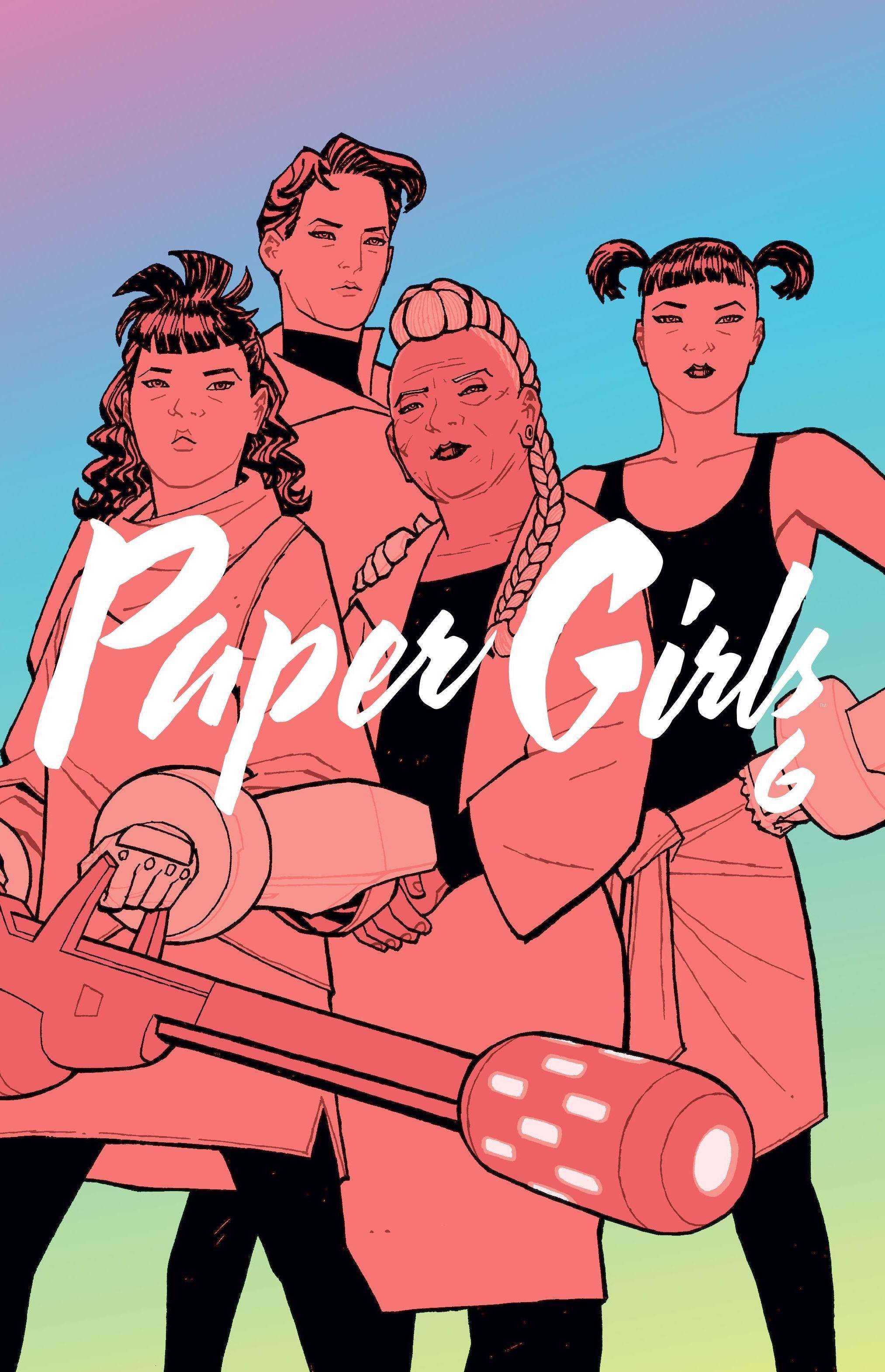 Paper Girls, t. 6 - okładka