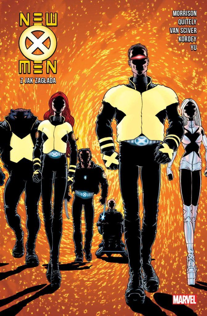 """""""New X-Men"""" - okładka"""