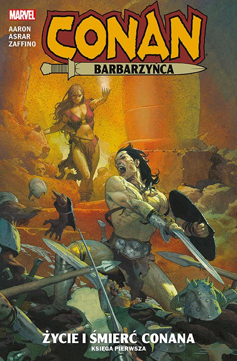 Conan Barbarzyńca, tom 1 - okładka