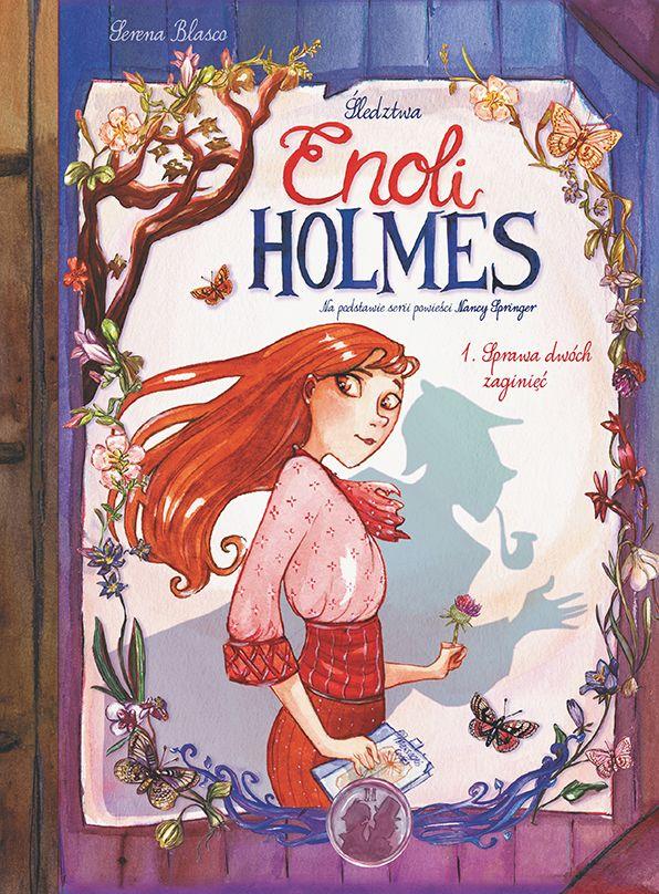 Śledztwa Enoli Holmes, tom 1 - okładka