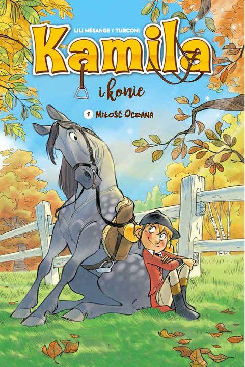 Kamila i konie, tom 1 - okładka