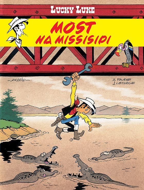 Lucky Luke, tom 63 - okładka