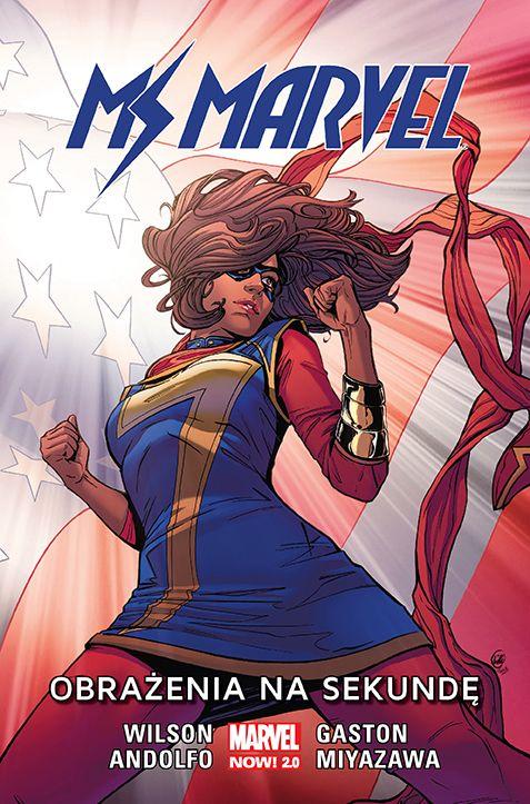 Ms Marvel, tom 7 - okładka