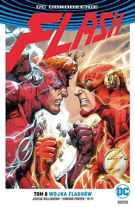 Flash, tom 8 - okładka