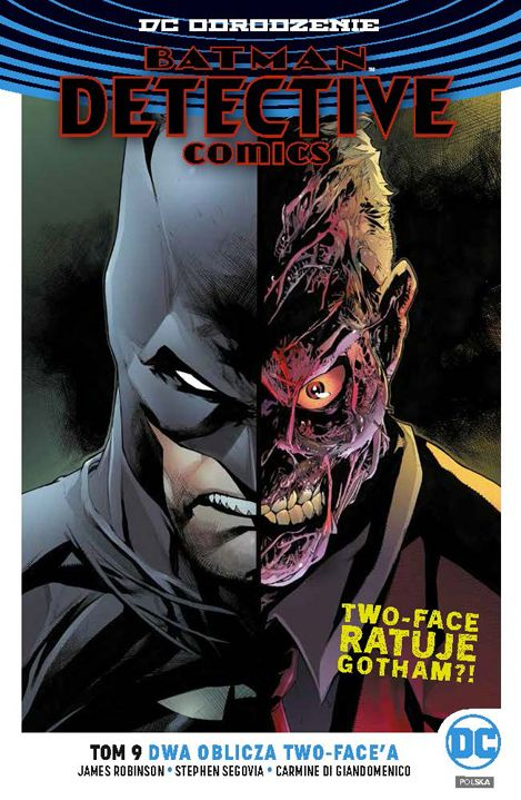 Detective Comics, tom 9 - okładka