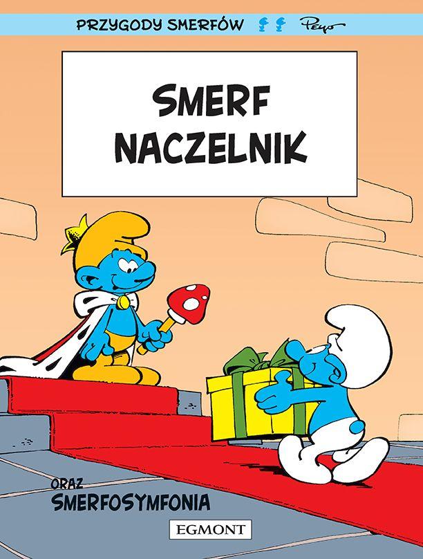 Smerfy - Smerf Naczelnik - okładka