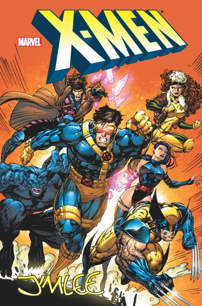 """""""X-Men. Jim Lee"""" - okładka"""