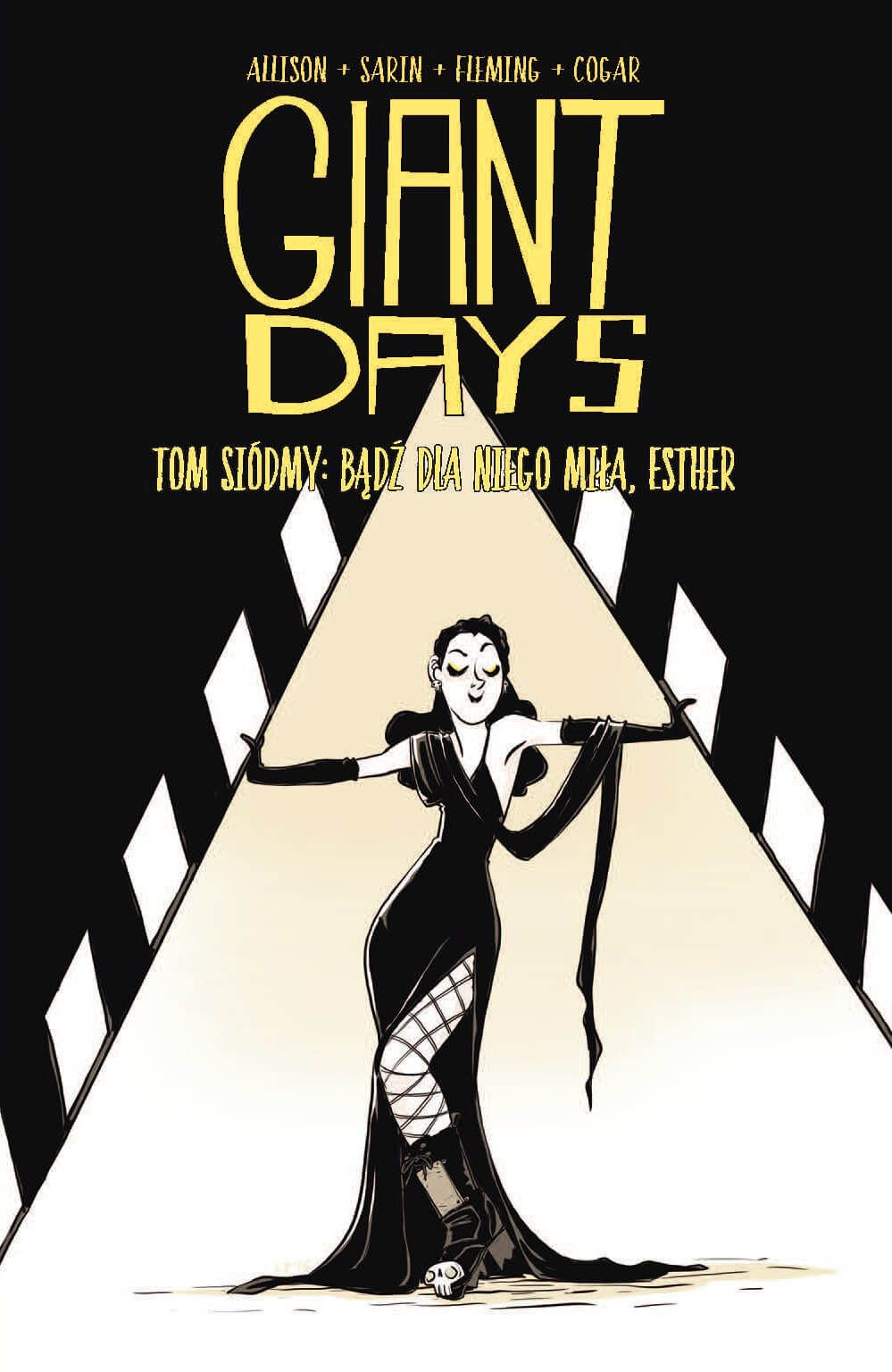Giant Days, tom 7 - okładka