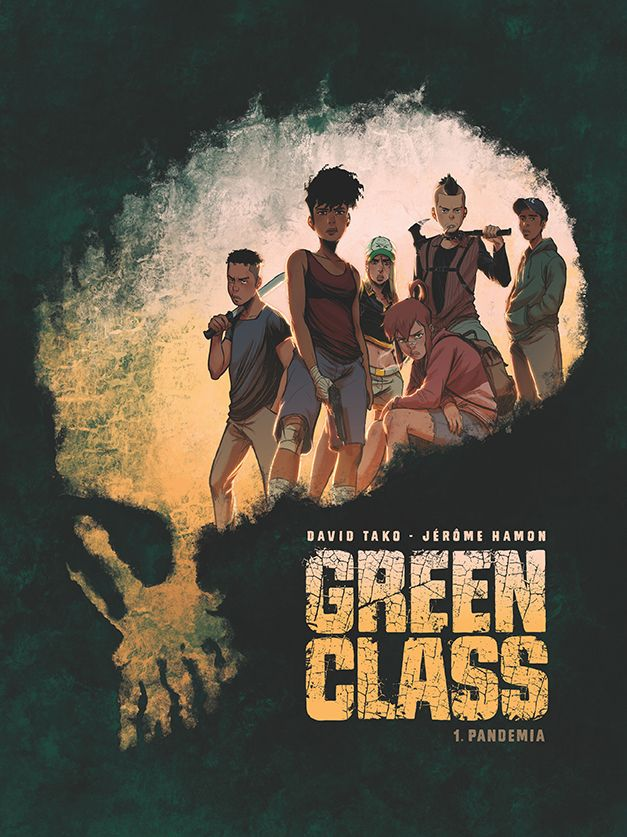 Green Class. Pandemia, tom 1 - okładka