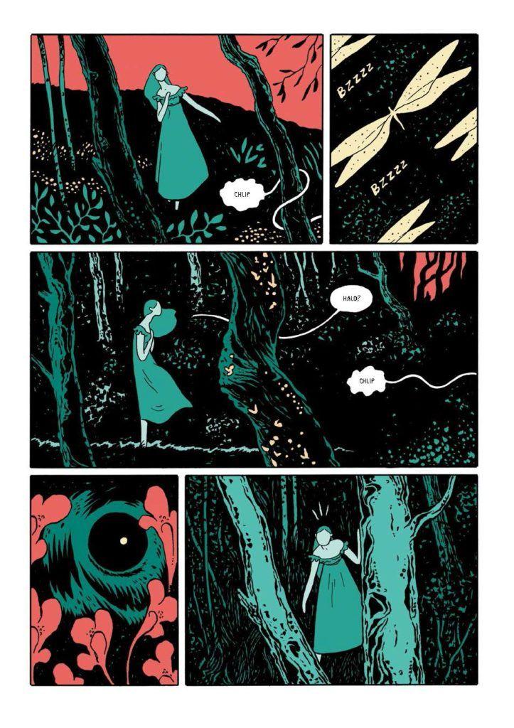 The Black Holes - rys. Borja Gonzalez