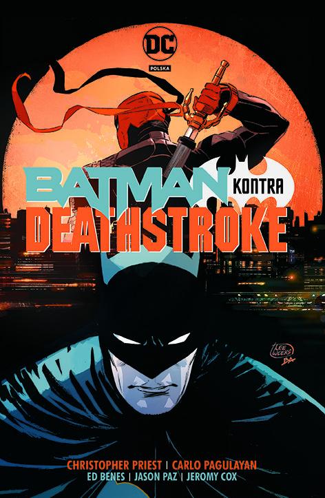 Batman kontra Deathstroke - okładka