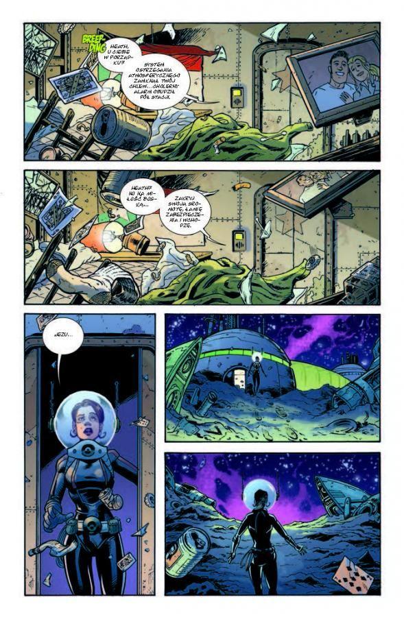 """""""Fear Agent 2"""" - przykładowa strona"""