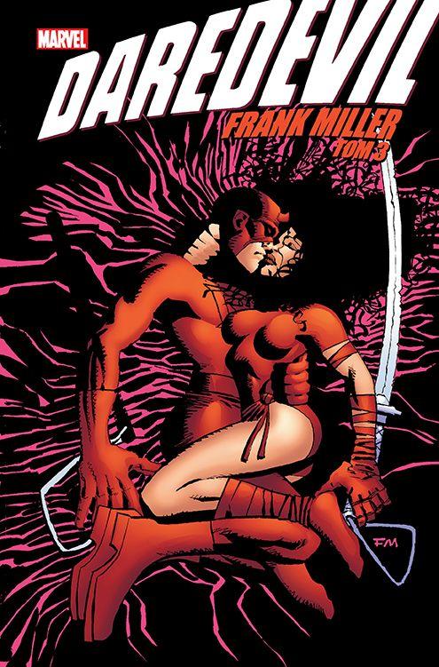 Daredevil Frank Miller, tom 3 - okładka