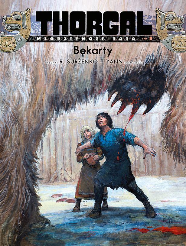 Thorgal, Młodzieńcze Lata, tom 8 - okładka