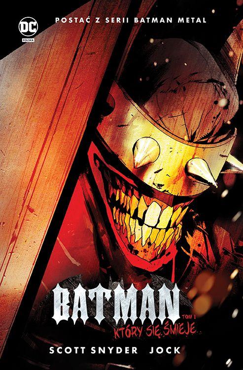 """""""Batman, Który się Śmieje 1"""" - okładka"""