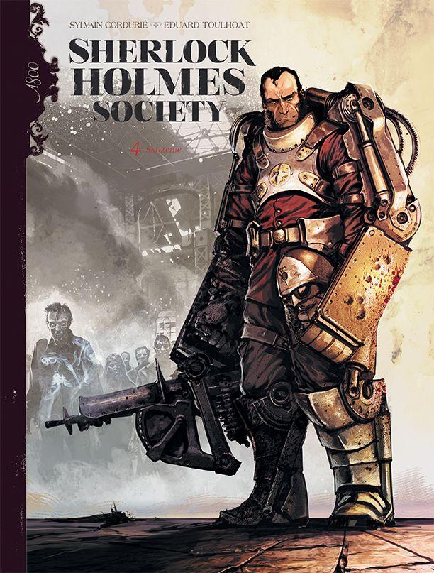 Sherlock Holmes Society, tom 4 - okładka