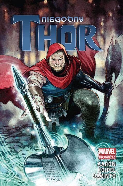 Niegodny Thor - okładka