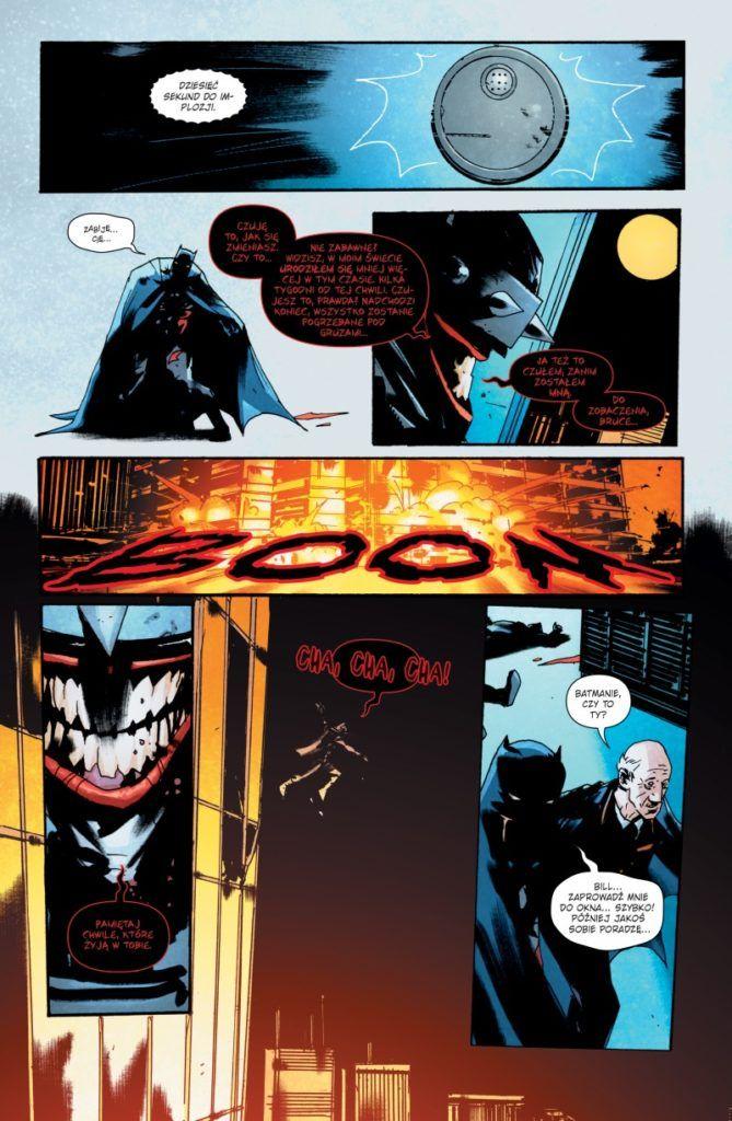 """""""Batman, Który się Śmieje 1"""" - przykładowa strona"""