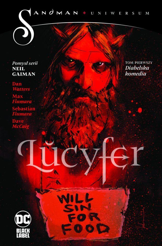 """""""Lucyfer 1"""" - okładka"""