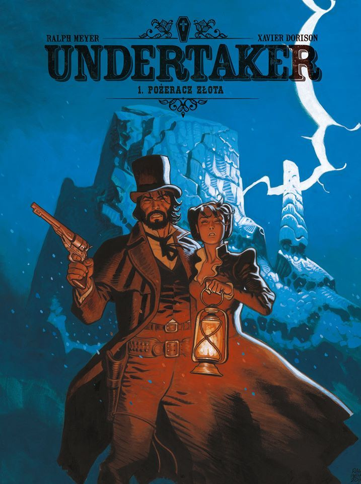 Undertaker, tom 1 - okładka