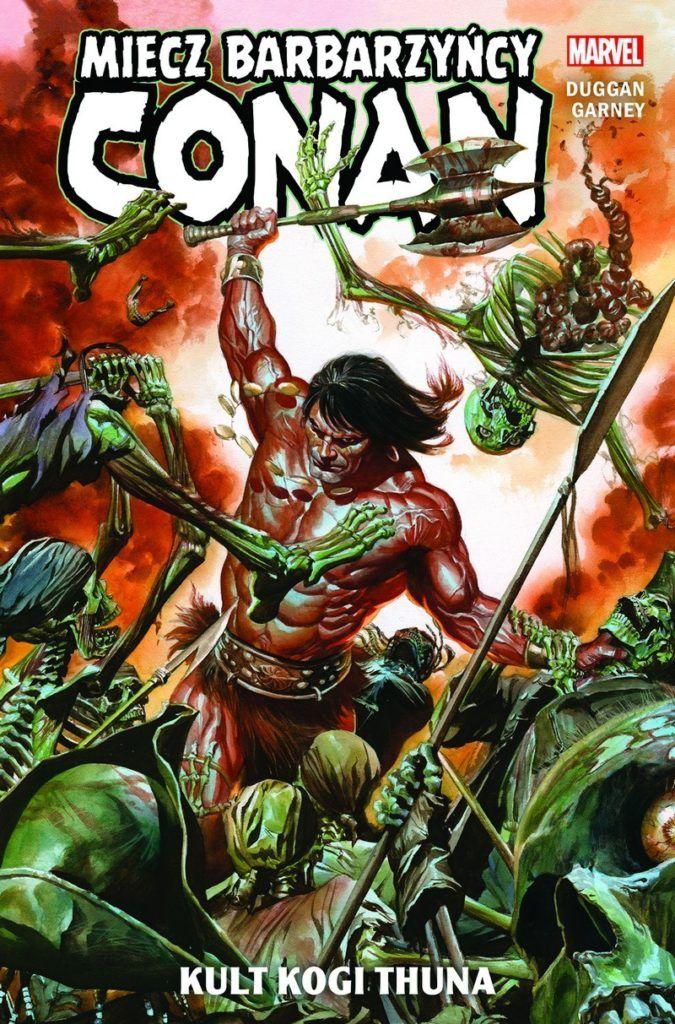 """""""Conan - Miecz Barbarzyńcy 1"""" - okładka"""