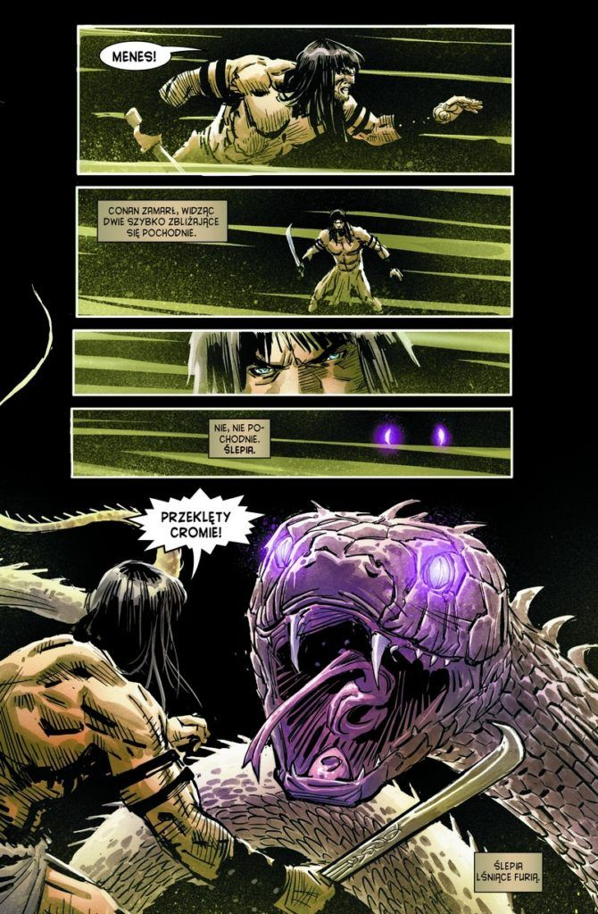 """""""Conan - Miecz Barbarzyńcy 1"""" - przykładowa strona"""