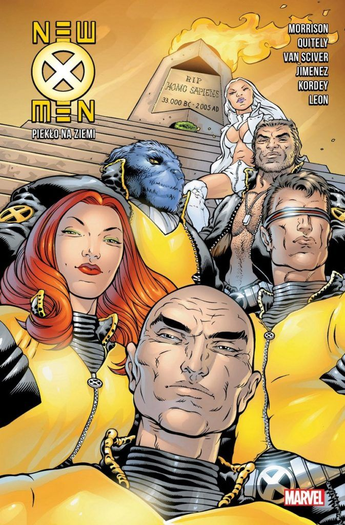 """""""New X-Men 2"""" - okładka"""