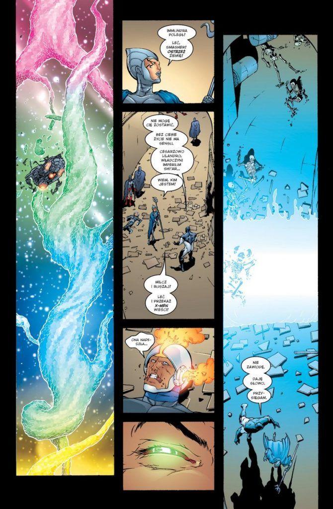 """""""New X-Men 2"""" - przykładowa strona"""
