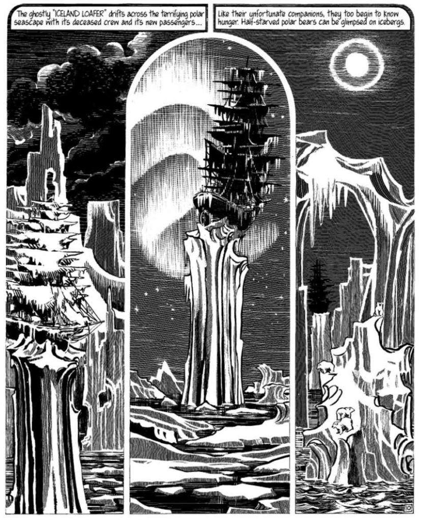 Arctic Marauder - rys. Jacques Tardi
