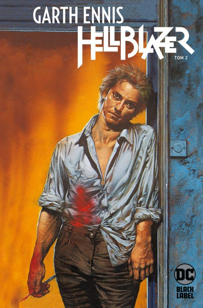 """Hellblazer. Garth Ennis 2"" – okładka"