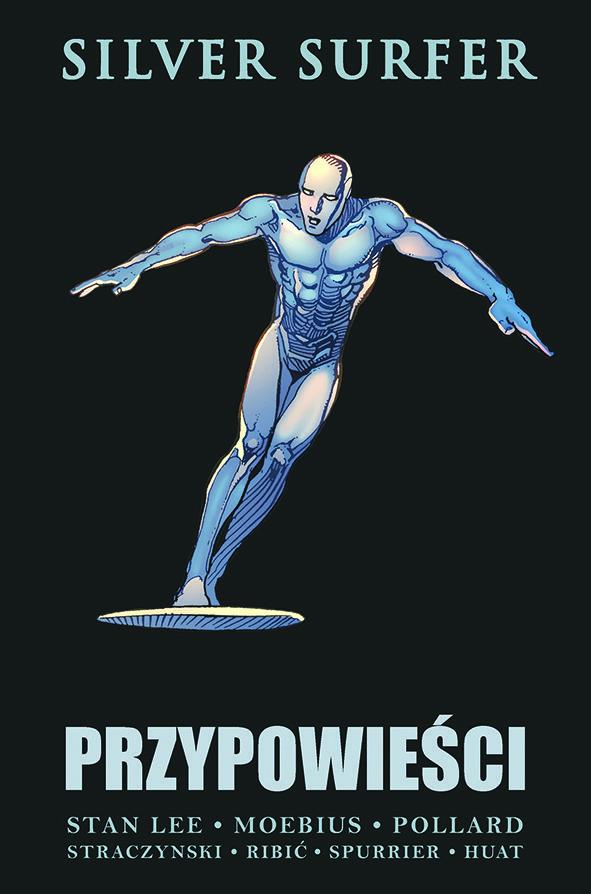 """""""Silver Surfer: Przypowieści"""" - okładka"""