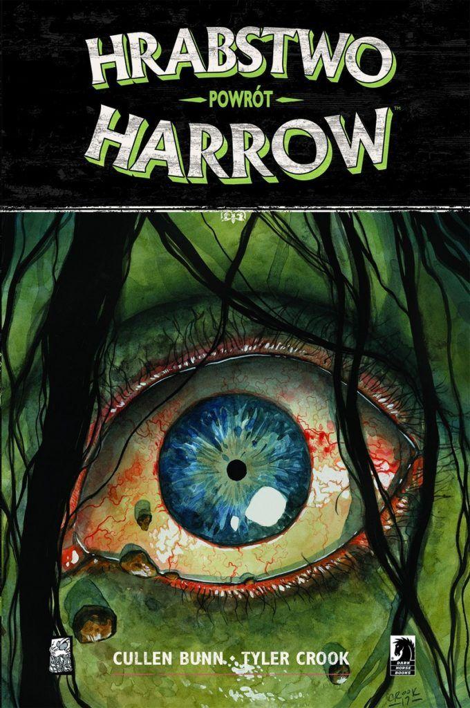 """Hrabstwo Harrow 8"" - okładka"
