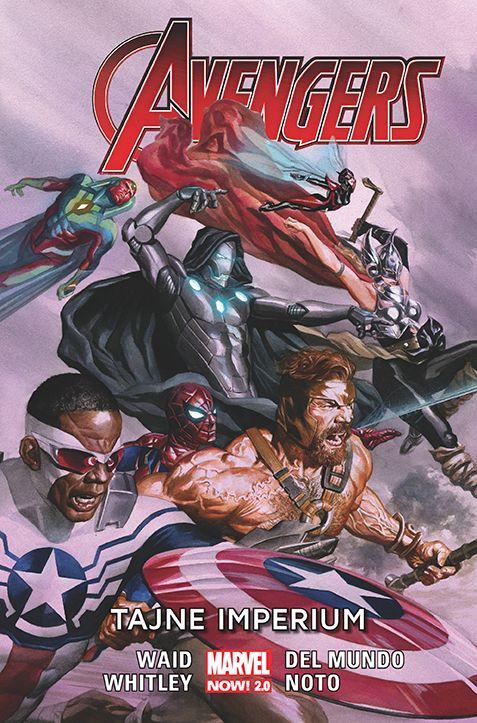 Avengers. Tajne Imperium - okładka