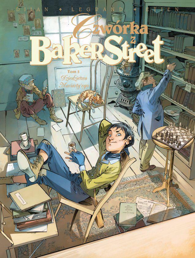 Czwórka z Baker Street, tom 5 - okładka