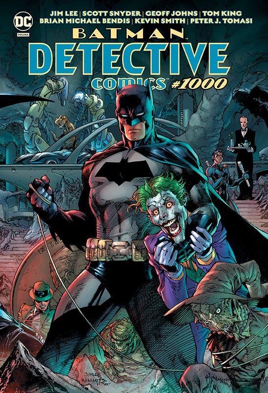 Detective Comics #1000 - okładka