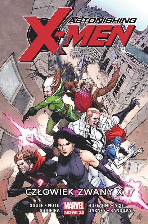 Astonishing X-men, tom 2 - okładka